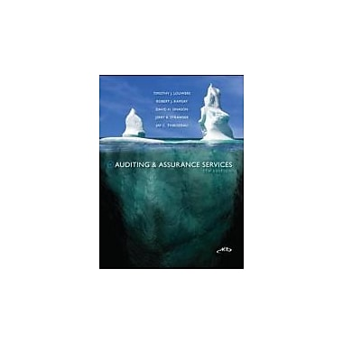 Auditing & Assurance Services, New Book (9780078025440)