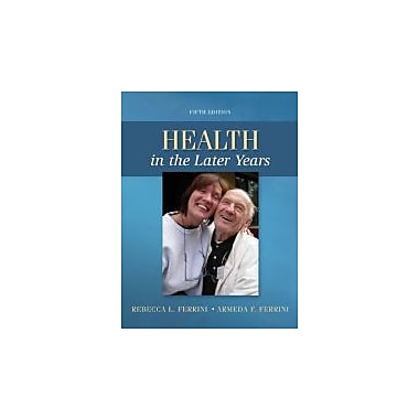 Health in the Later Years, Used Book (9780078028496)