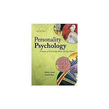 Personality Psychology: Domains of Knowledge About Human Nature, Used Book (9780078035357)