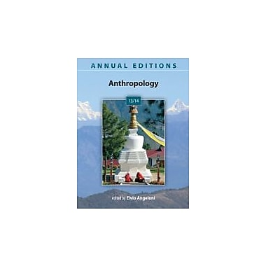 Annual Editions: Anthropology 13/14, New Book (9780078051319)