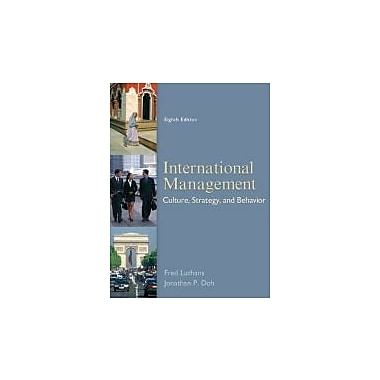 International Management: Culture, Strategy, and Behavior, 8th Edition, New Book (9780078112577)