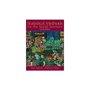 Statistical Methods for the Social Sciences (4th Edition), Used Book (9780130272959)