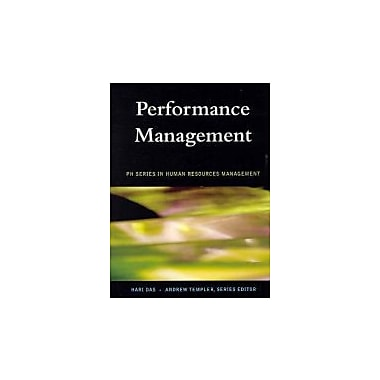 Performance Management: Building a High-Performance Workplace, New Book (9780130413796)