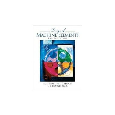 Design of Machine Elements (8th Edition), Used Book (9780130489890)
