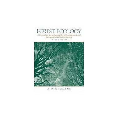 Forest Ecology (3rd Edition), New Book (9780130662583)