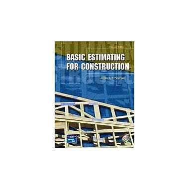 Basic Estimating for Construction (2nd Edition), New Book (9780131119130)