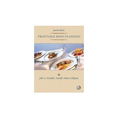 Profitable Menu Planning (4th Edition), Used Book (9780131196803)
