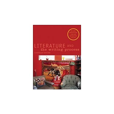 Literature and the Writing Process, Canadian Edition, New Book (9780131203099)