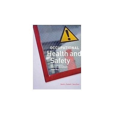 Occupational Health and Safety, Canadian Edition, Used Book (9780131275805)