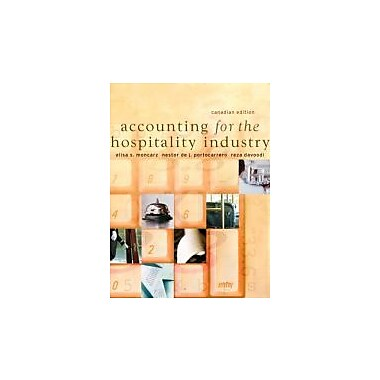 Accounting for the Hospitality Industry, Canadian Edition, Used Book (9780131275935)