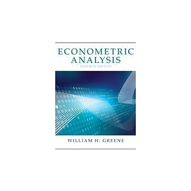 Econometric Analysis (7th Edition), Used Book (9780131395381)