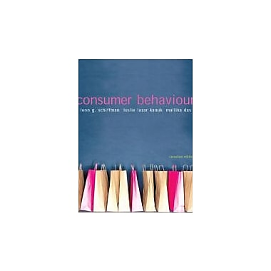 Consumer Behaviour, Canadian Edition, New Book (9780131463042)