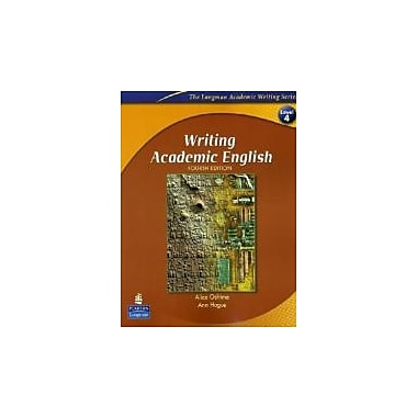 Writing Academic English, Fourth Edition (The Longman Academic Writing Series, Level 4), New Book (9780131523593)