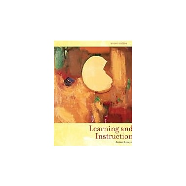 Learning and Instruction (2nd Edition), Used Book (9780131707719)