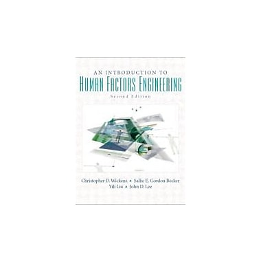 Introduction to Human Factors Engineering (2nd Edition), Used Book (9780131837362)