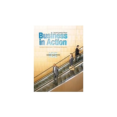 Business in Action, Second Canadian Edition, In-Class Edition (2nd Edition), Used Book (9780132066914)