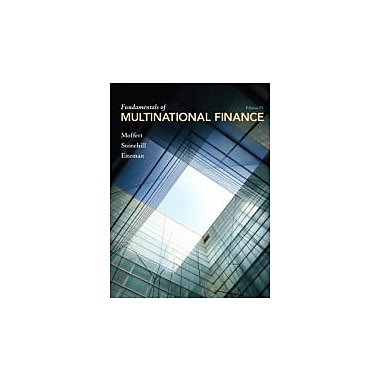 Fundamentals of Multinational Finance (4th Edition), New Book (9780132138079)