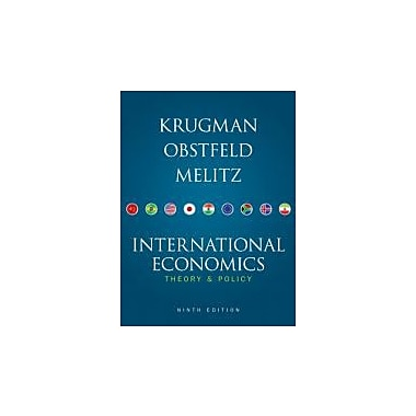 International Economics: Theory and Policy, 9th Edition, Used Book (9780132146654)