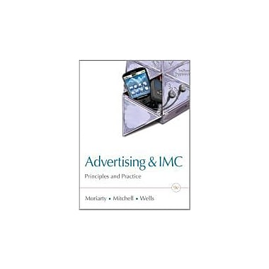 Advertising & IMC: Principles and Practice, 9th Edition, New Book (9780132163644)