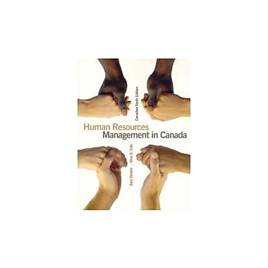 Human Resources Management in Canada, Used Book (9780132270878)
