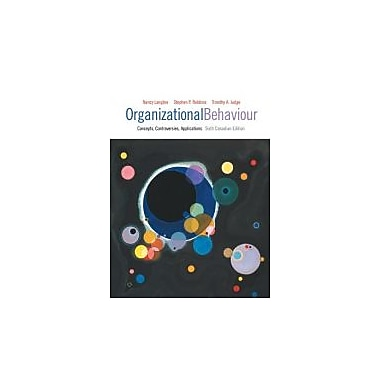 ORGANIZATIONAL BEHAVIOUR [Hardcover] by LANGTON, Nancy, Used Book (9780132310314)