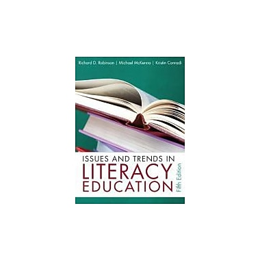 Issues and Trends in Literacy Education (5th Edition), New Book (9780132316415)