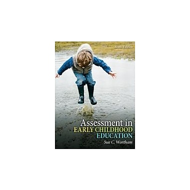 Assessment in Early Childhood Education (6th Edition), New Book (9780132481229)