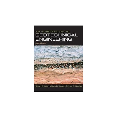 An Introduction to Geotechnical Engineering (2nd Edition), New Book (9780132496346)