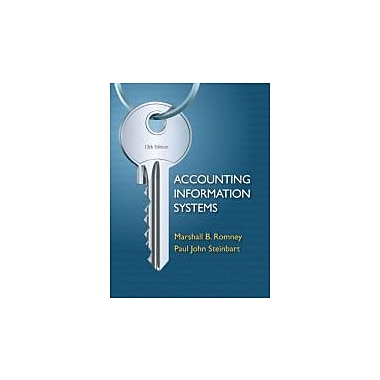 Accounting Information Systems (12th Edition), New Book (9780132552622)