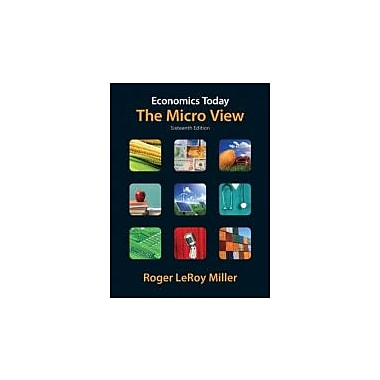 Economics Today: The Micro View (16th Edition) (Pearson Series in Economics), New Book (9780132554411)