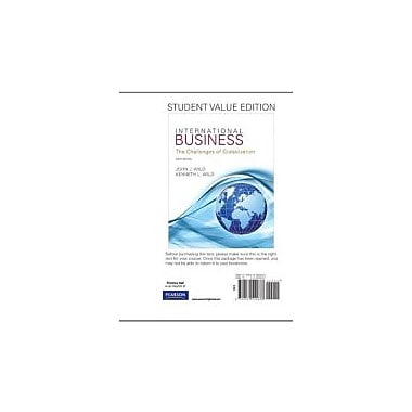 International Business, Student Value Edition (6th Edition), New Book (9780132555838)