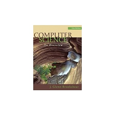 Computer Science: An Overview (11th Edition), New Book (9780132569033)