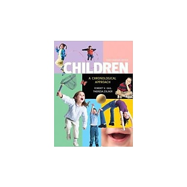 Children: A Chronological Approach, Third Canadian Edition with MyDevelopmentLab (3rd Edition), New Book (9780132601245)