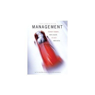 Management, Tenth Canadian Edition with MyManagementLab (10th Edition), New Book (9780132724173)