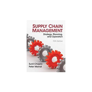 Supply Chain Management (5th Edition), New Book (9780132743952)