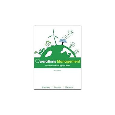 Operations Management: Processes and Supply Chains (10th Edition), Used Book (9780132807395)