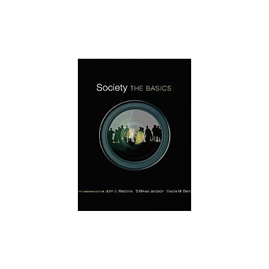 Society: The Basics, Fifth Canadian Edition with MySocLab (5th Edition), Used Book (9780132898911)