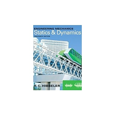 Engineering Mechanics: Statics & Dynamics (13th Edition), New Book (9780132915489)