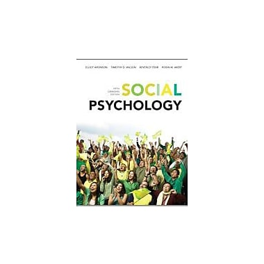 Social Psychology, Fifth Canadian Edition with MyPsychLab (5th Edition), New Book (9780132918350)