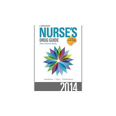 Pearson Nurse's Drug Guide 2014 (Pearson Nurse's Drug Guide (Nurse Edition))