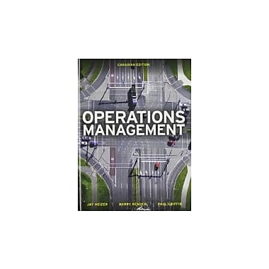 Operations Management, First Canadian Edition with MyOMLab, New Book (9780133357516)