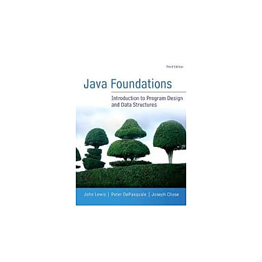 Java Foundations (3rd Edition), New Book (9780133370461)