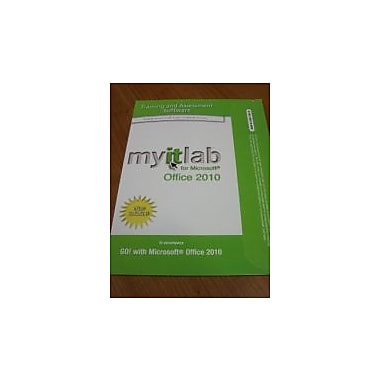 myitlab with Pearson eText -- Access Code -- for GO! Office 2010, New Book (9780133481709)