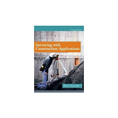 Surveying with Construction Applications (7th Edition), New Book (9780135000519)