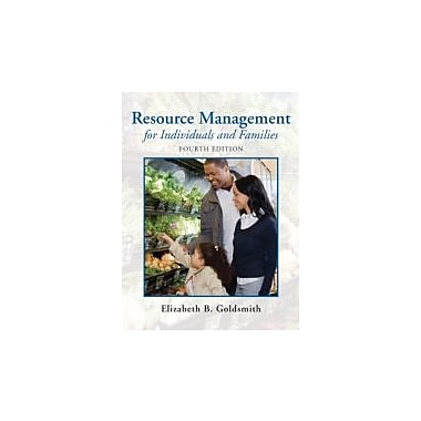 Resource Management for Individuals and Families (4th Edition), New Book (9780135001301)