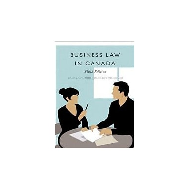 Business Law in Canada, New Book (9780135051771)