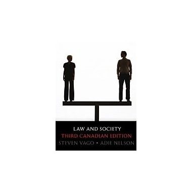 Law and Society, Third Canadian Edition (3rd Edition), New Book (9780135064658)