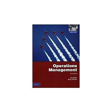 Operations Management, Used Book (9780135111437)