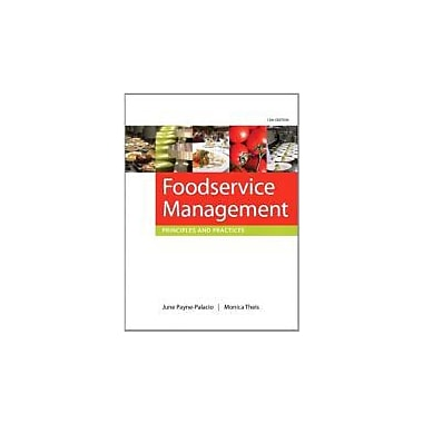 Foodservice Management: Principles and Practices (12th Edition), New Book (9780135122167)