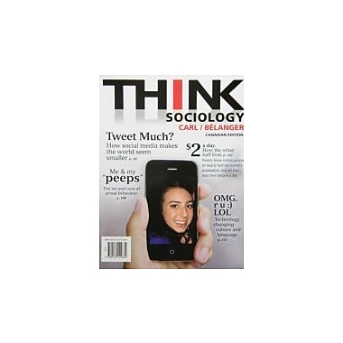 THINK Sociology, First Canadian Edition